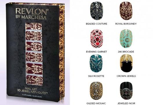 Revlon By Marchesa 3D Jewel Nail Appliqués