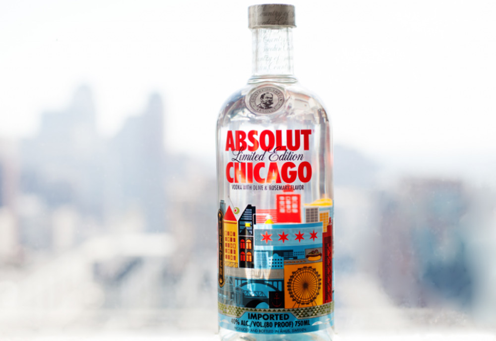 ABSOLUT CHICAGO Limited-Edition Vodka