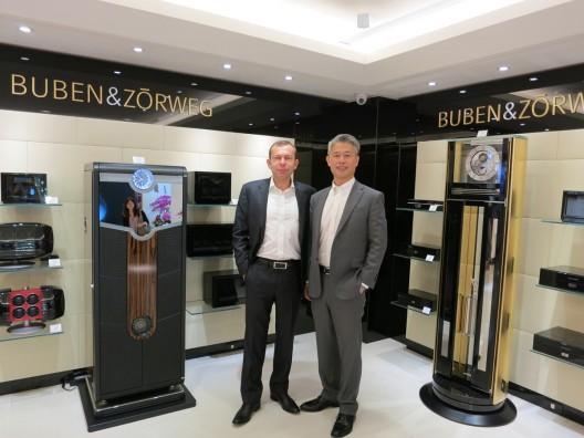 BUBEN&ZORWEG InShop Boutique Opening Taiwan