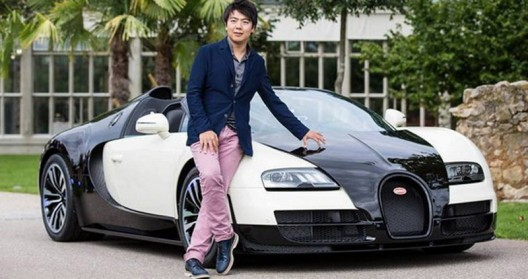Veyron Grand Sport Vitesse models, this time in honor of the Chinese pianist Lang Lang