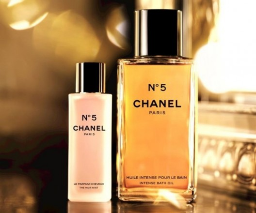 Chanel expands its line of No. 5 bathing products