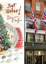 Dolce & Gabbana design 2013 Christmas Tree for Claridge's London