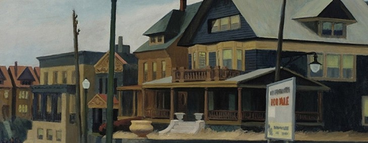Edward Hopper's East Wind Over Weehawken at Christie's sale of American Art