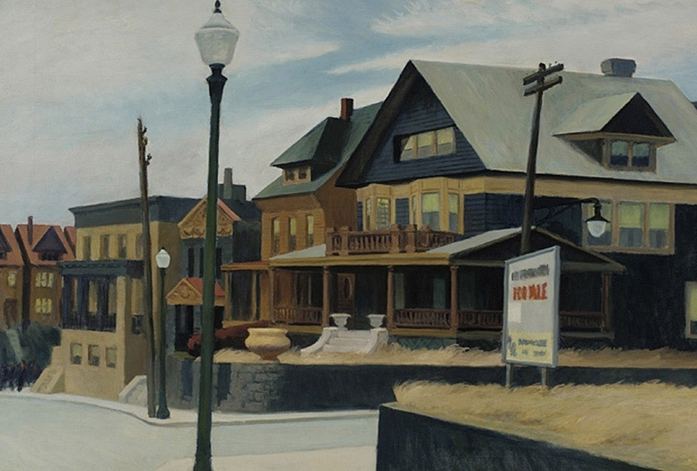 EDWARD HOPPER'S EAST WIND OVER WEEHAWKEN TO LEAD THE SALE