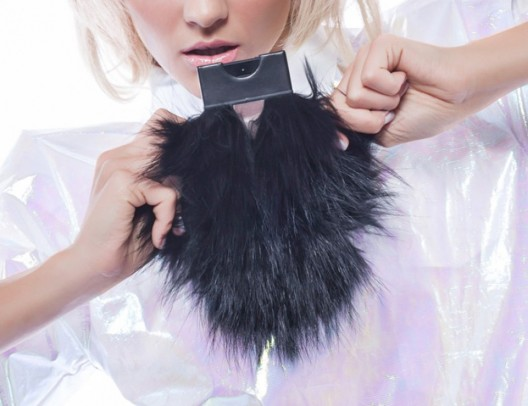 Premium fur case ready for the new iPad