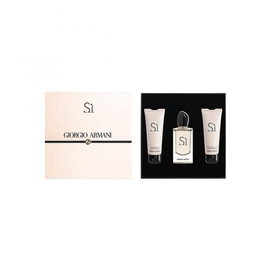 Giorgio Armani launching 'Si' gift set
