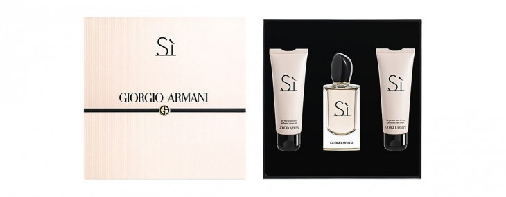 Giorgio Armani launching 'Si' gift set