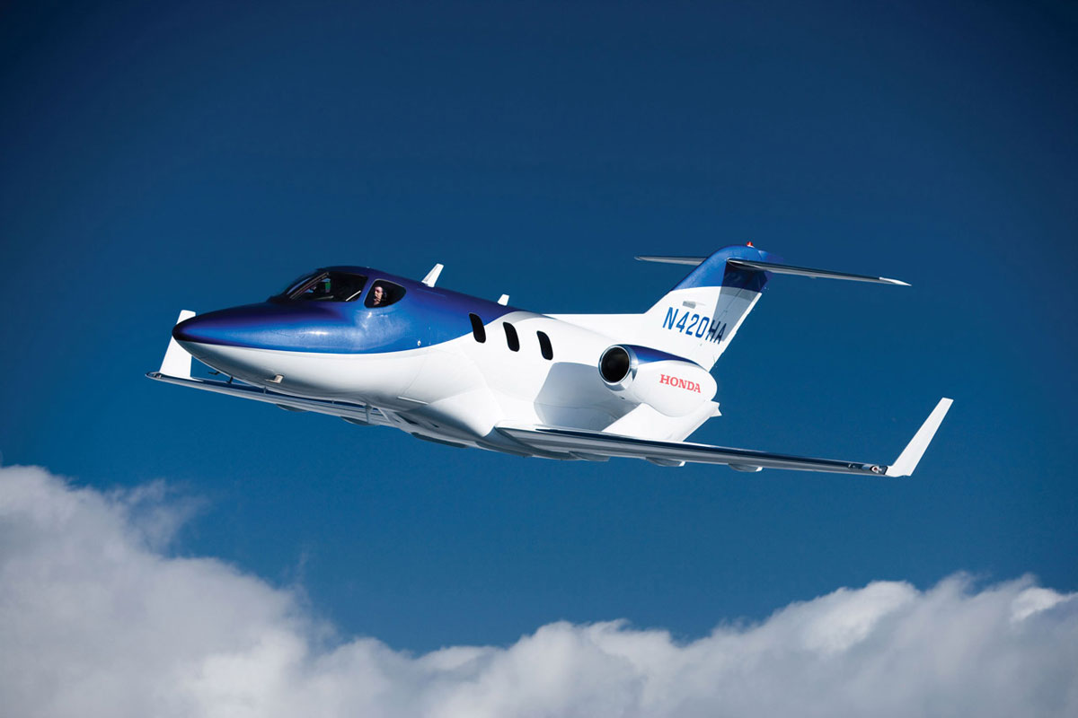 First Production Hondajet Is Nearing Completion Extravaganzi