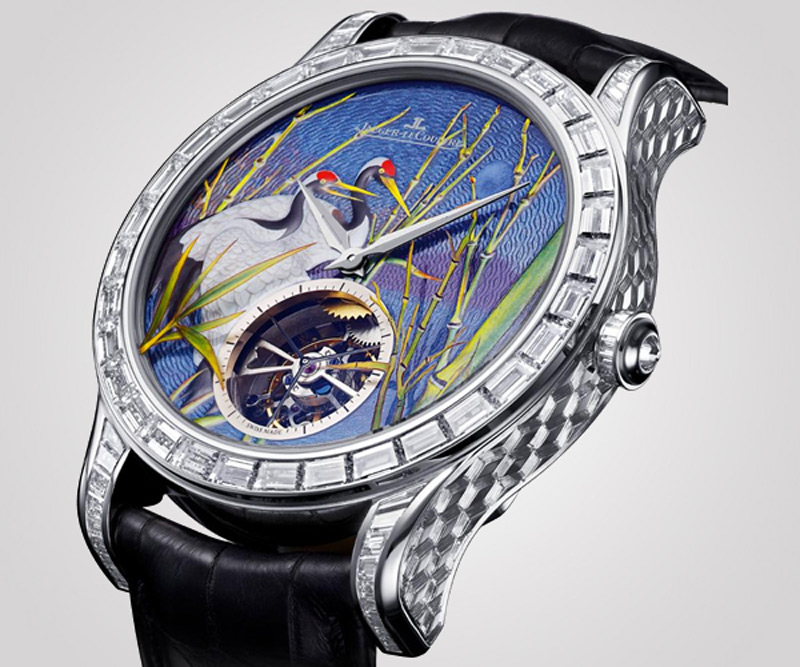 Jaeger-LeCoultre releases Master Grand Tourbillon Enamel with a limited edition of 8 pieces