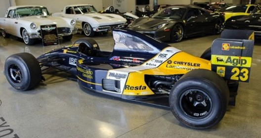 Lamborghini Minardi F1 Car On eBay