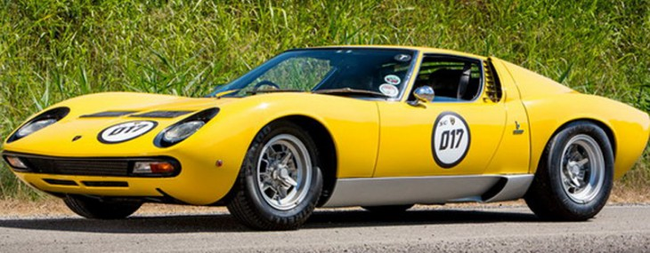 Lamborghini Miura SV Which Was Owned By Rod Stewart On Sale