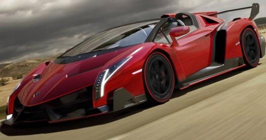 Lamborghini has prepared a roadster version of its model Veneno