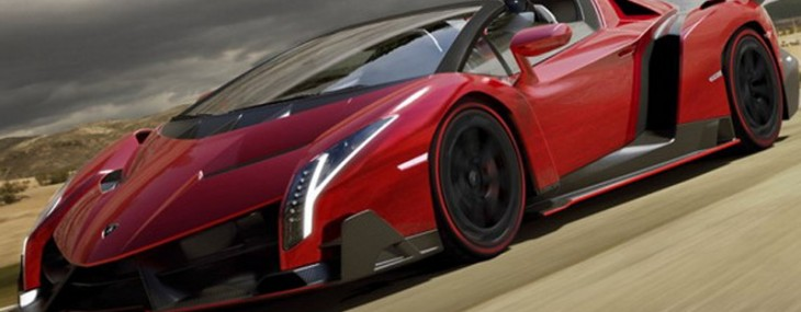 Lamborghini has prepared a roadster version of its model Veneno