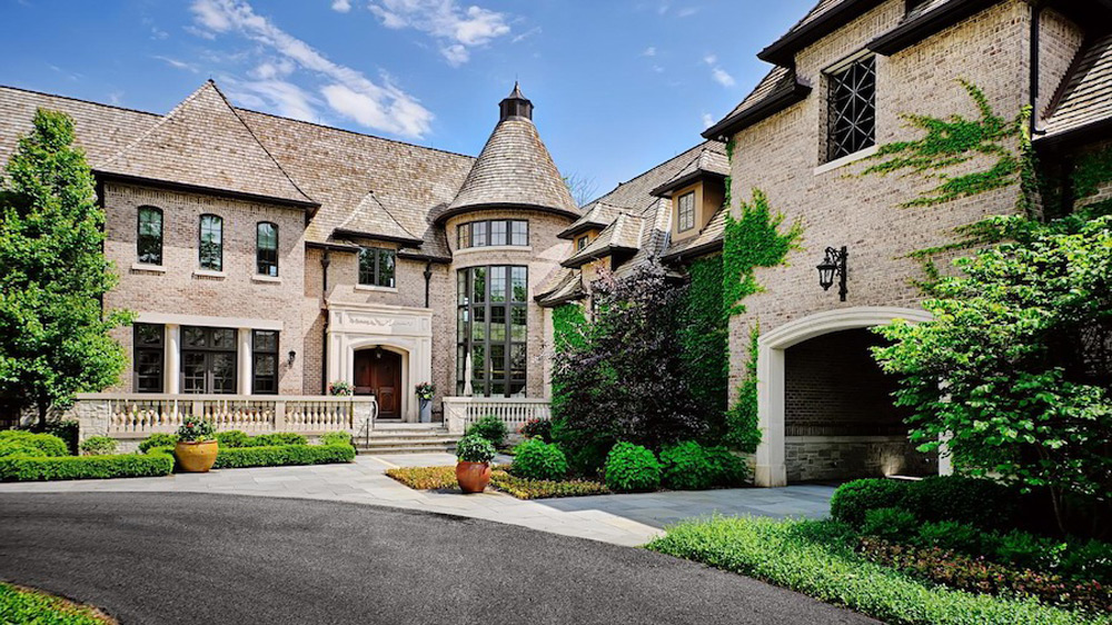 15 9 Million Lavish French Country Estate Barrington