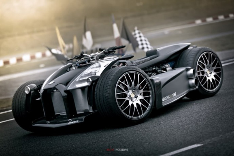 $250,000 Ferrari-powered Wazuma V8F Quad-bike makes a comeback in Matte Edition