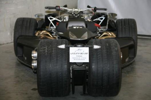 $250,000 Ferrari-powered Wazuma V8F Quad-bike makes a comeback in Matte Edition