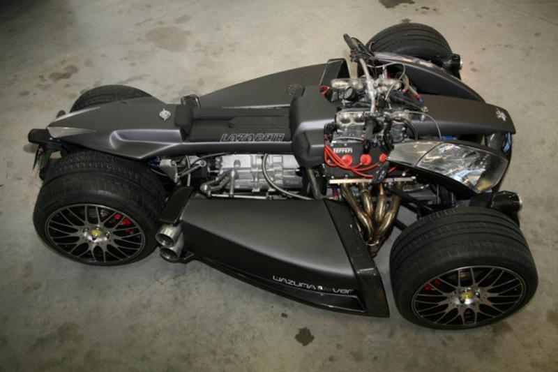 Lazareth Wazuma V8f Matt Edition Ferrari Powered