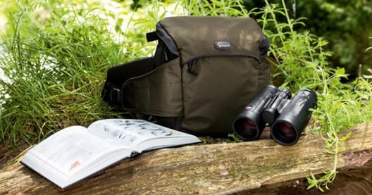 Leica Trinovid Binoculars in a Set with a Lowepro Belt-pack