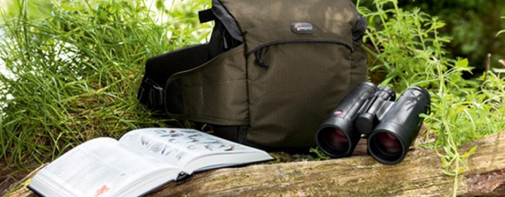 Leica Trinovid Binoculars in a Set with a Lowepro Belt-pack