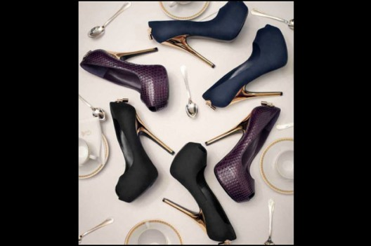 Footwear collection of French luxury brand Louis Vuitton Fall / Winter 2013 has finally arrived