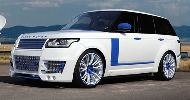 modified Ranger Rover, but this time in cooperation with the Russian Top Car