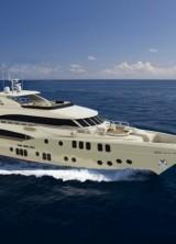 Majesty 155 super yacht by Gulf Craft