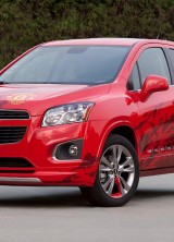 Chevrolet Trax, Signed By The Manchester United Players, On Auction