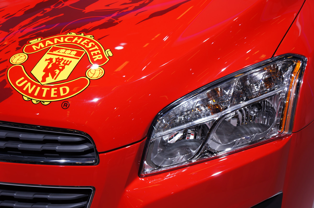Chevrolet Trax Signed By The Manchester United Players On
