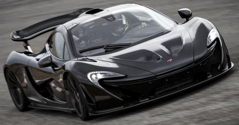 Production of the McLaren P1 is officially started