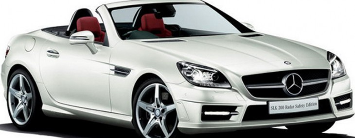 Mercedes has again unveiled another special model for the Japanese market