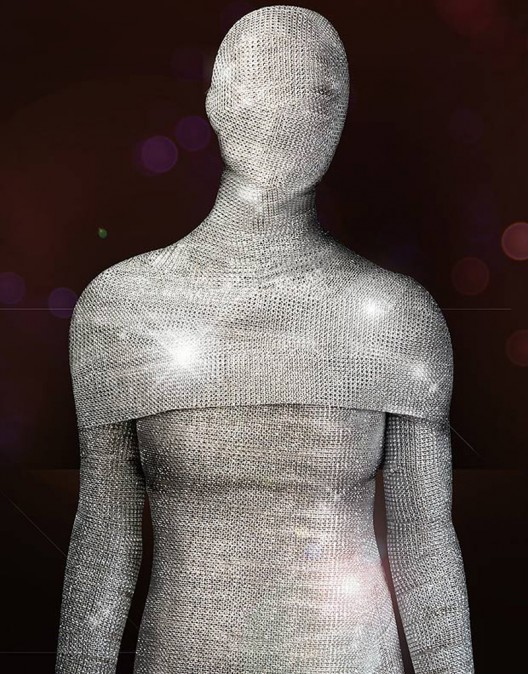 The world's most expensive Morphsuit is a million dollar Halloween costume with 20,000 diamonds