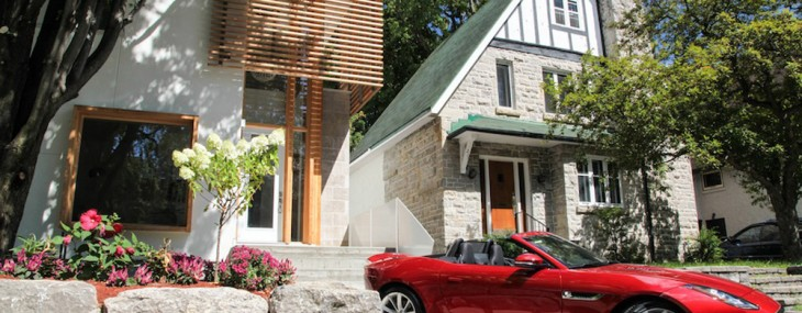 Pay $1.1 Million for the Ottawa House and Get a Brand New Jaguar F-Type for Free