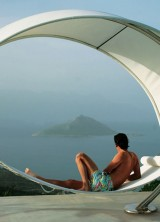 The Award-winning Petiole Hammock From Hammacher Schlemmer
