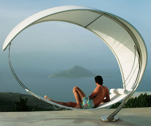 The Petiole Hammock at $35,000 looks more like a modern sculpture from MoMA