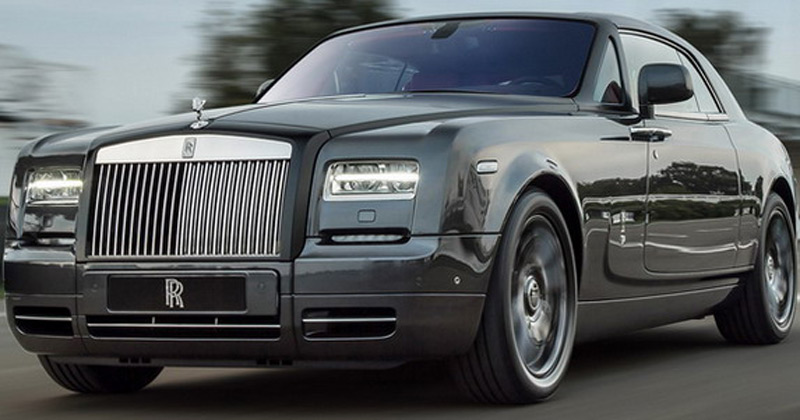 Dubai, Rolls-Royce has created this special Phantom Coupe Chicane