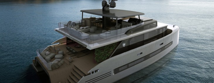 At $8 million the Picchio Catamaran can be your personal island in the high seas