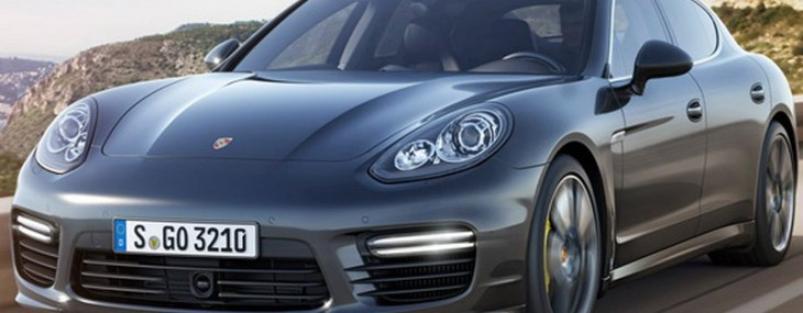 2014 Porsche Panamera Turbo S At Tokyo Motor Show