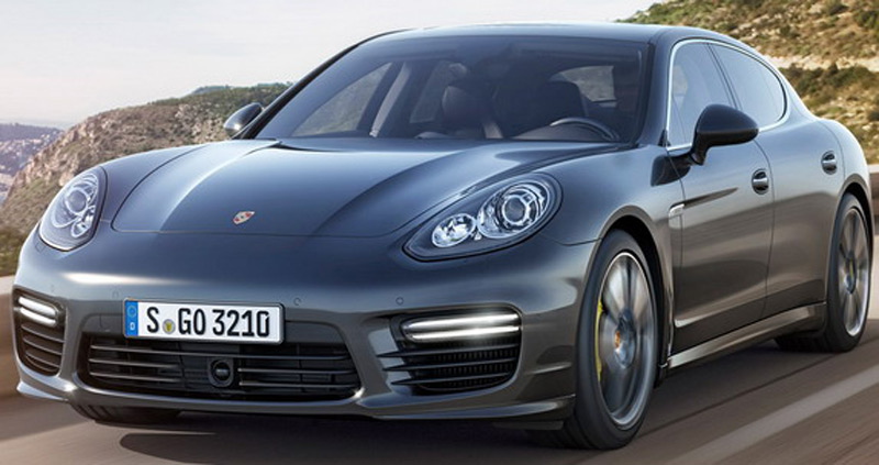 Permanent All Wheel Drive 2017 Porsche Panamera Turbo S At Tokyo Motor Show