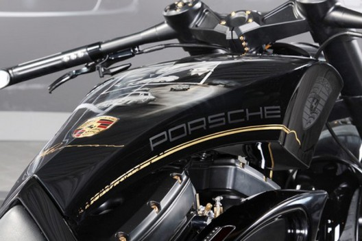 Custom-Wolf and Thunderbike design this tribute to Porsche