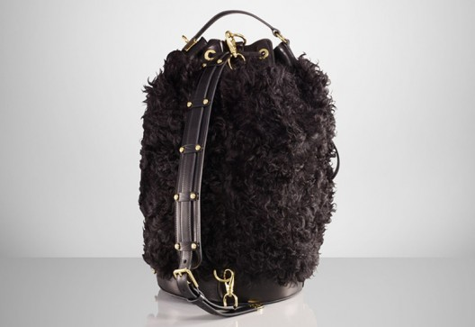 Ralph Lauren's $6000 shearling duffle bag is for the sartorially brave hearted