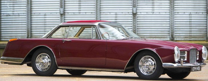 Facel Vega II from 1964, which was once owned by Ringo Starr