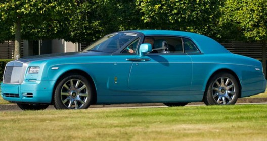 Rolls-Royce has announced a few pictures of the new special edition model Phantom Coupe