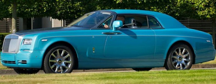 Rolls-Royce Ghawwass Phantom Coupe Special Edition
