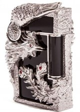$16,500 Limited Edition Phoenix Black Lighters by S.T. Dupont on Lighters Direct