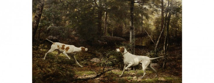 Pointer painting to cause a 'Sensation' in Bonhams Manhattan