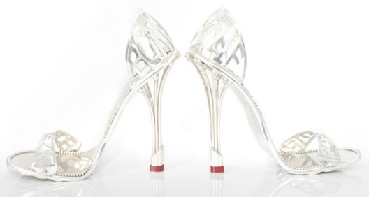 House of Borgezie fashions a solid platinum stiletto for $112,000