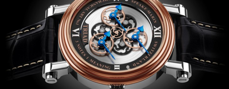 Speake-Marin last month has introduced a limited Triad model