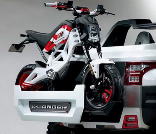 Electric Suzuki Extrigger Concept