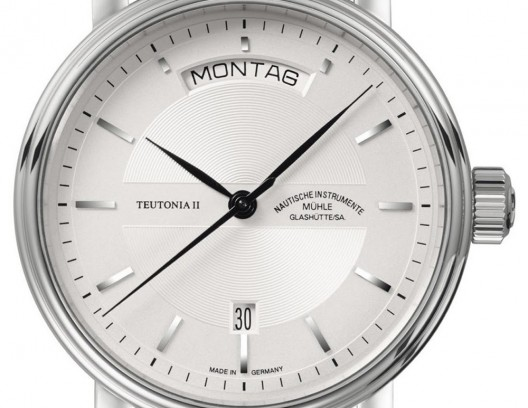 Teutonia II Tag / Date watch is a new member of the Teutonia watch collection