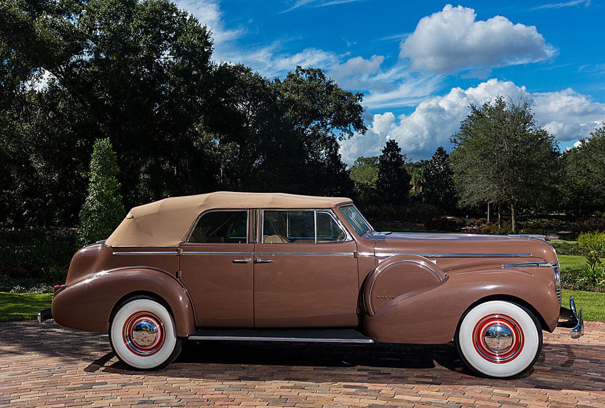 1940 Buick Phaeton Driven By Bogie In Casablanca At